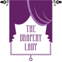 The Drapery Lady Logo Mobile